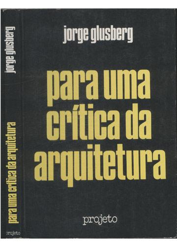 Para Uma Crítica da Arquitetura