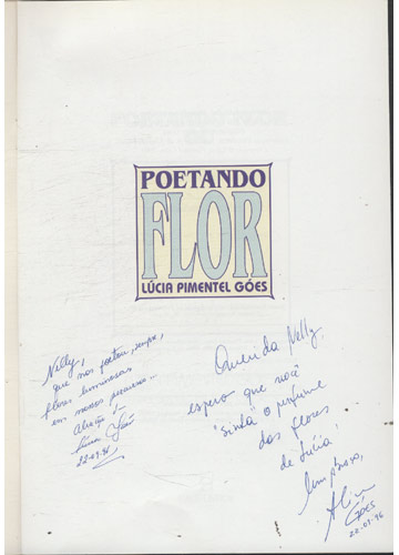 Poetando Flor - Com Dedicatória das Autoras