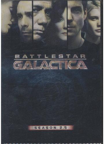 Battlestar Galactica - Season 2.5 *region 1* *importado* *3 discos (DVD)*