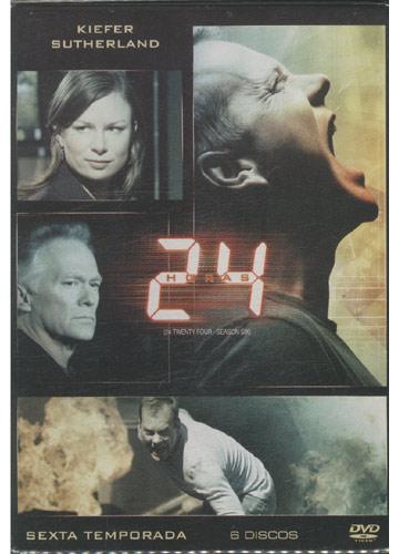 24 Horas - Sexta Temporada *6 discos (DVD)* *digipack*