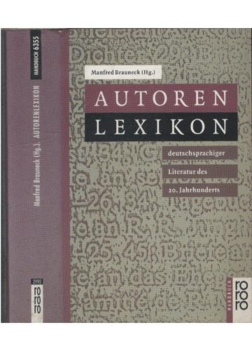 Autoren Lexikon