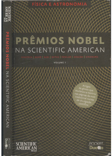 Prêmios Nobel na Scientific American - Volume 1