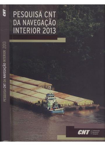 Pesquisa CNT da Navegação Interior 2013
