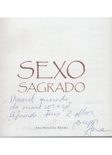 Sexo Sagrado - Com dedicatória da Autora
