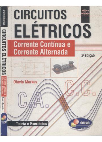 Circuito Corrente Alternada : Livro circuitos elétricos corrente contínua e