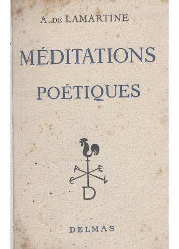 Meditations Poétiques
