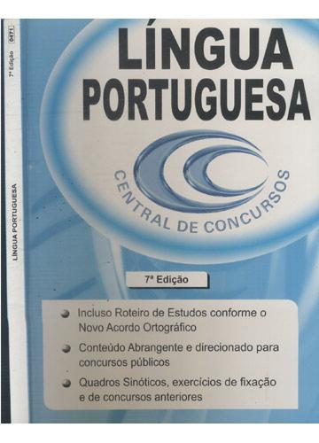 Língua Portuguesa - Central de Concursos
