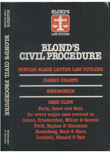 Blond's Civil Procedure