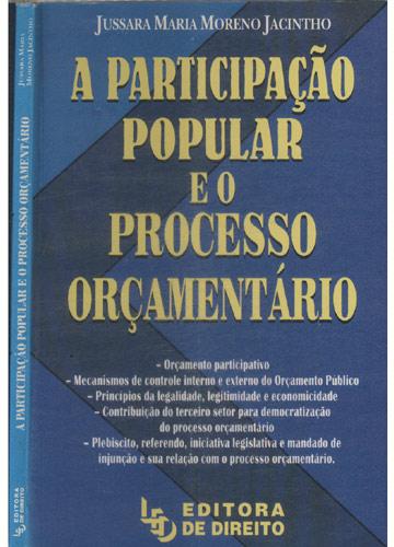 A Participação Popular e o Processo Orçamentário