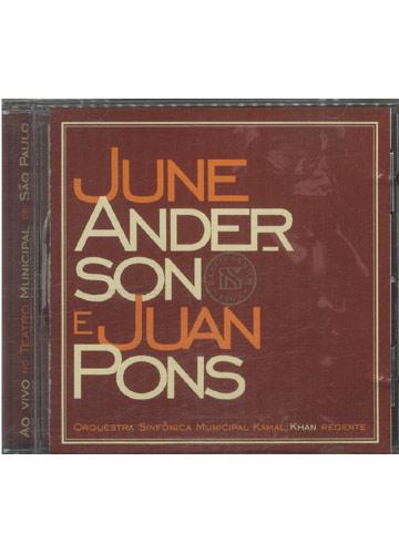 June Anderson e Juan Pons - Ao Vivo no Teatro Municipal de São Paulo