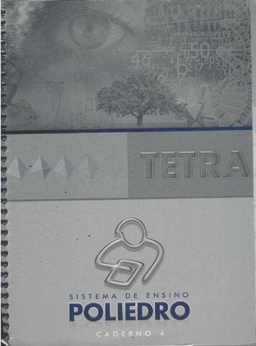 Sistema de Ensino Poliedro - Tetra - Caderno 4