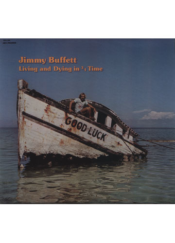 Jimmy Buffett - Living and Dying in 3/4 Time *Made in USA* *Raro*