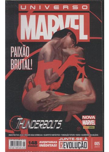 Universo Marvel - Nº.005 - Paixão Brutal!