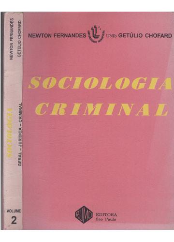 Sociologia Criminal - Volume 2