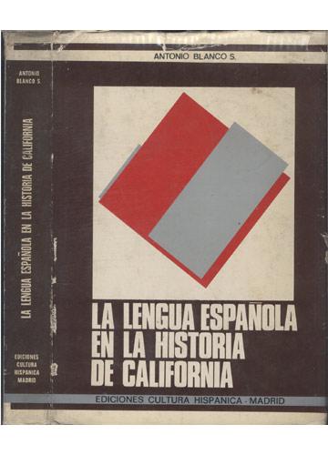 La Lengua Española en la Historia de California