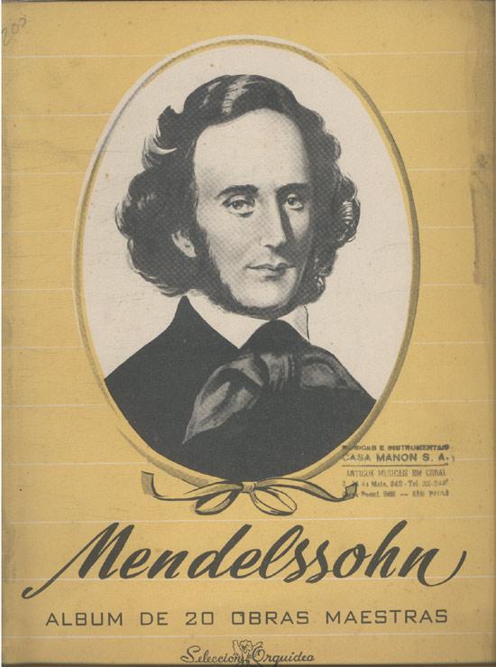Mendelssohn - Album de 20 Obras Maestras (Partituras)