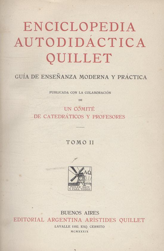 Enciclopedia Autodidáctica - Tomo II