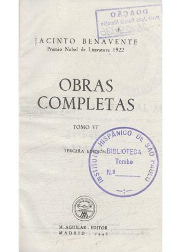 J Benavente - Obras Completas - Volume VI
