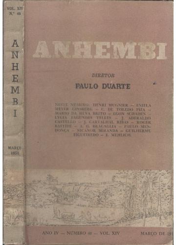 Anhembi - Nº 40 - Volume XIV