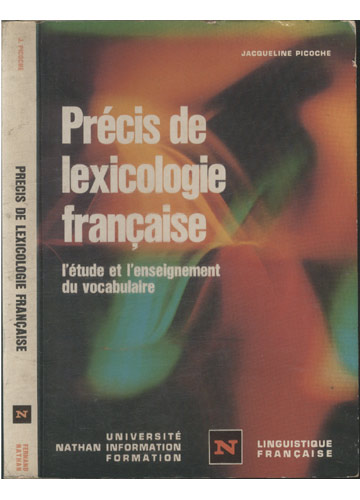 Précis de Lexicologie Française