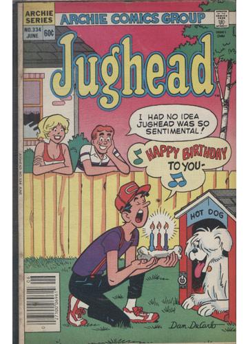 Jughead - N°.334 (em inglês)