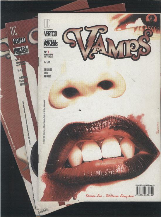 Vamps - Minissérie Completa em 3 Edições