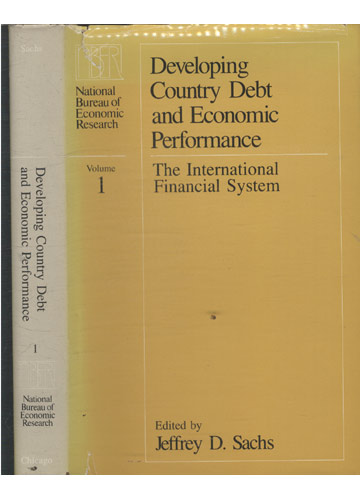 Developing Country Debt and Economic Performance - Volume 1