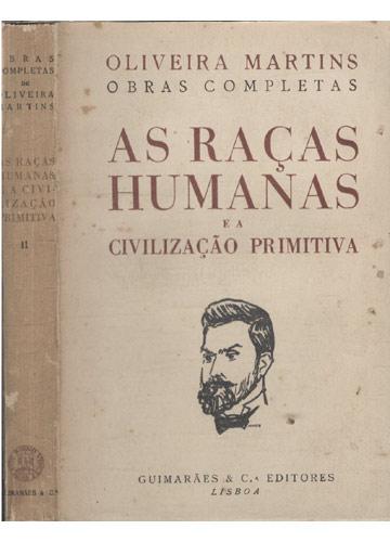 As Raças Humanas e a Civilização Primitiva