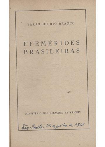 Efemérides Brasileiras