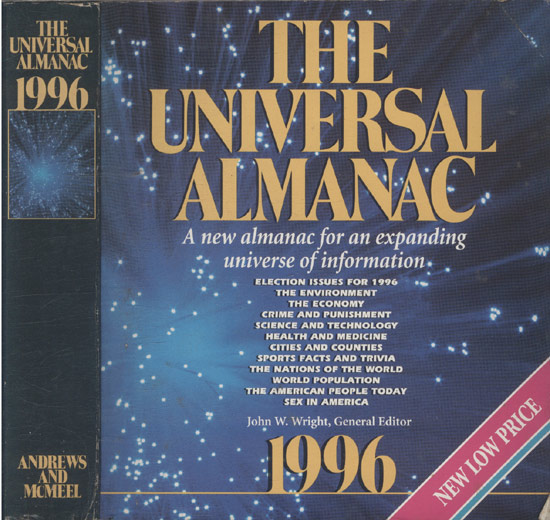 The Universal Almanac 1996