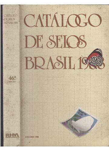 Catálogo de Selos Brasil 1988