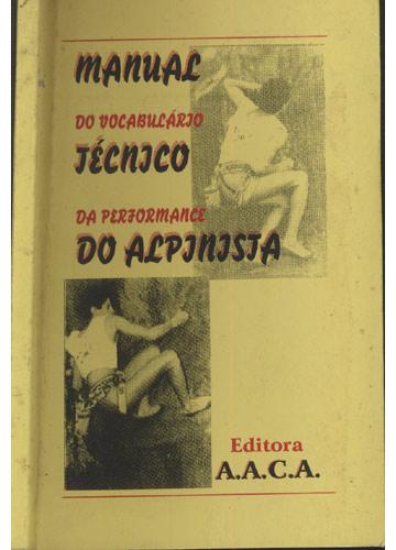 Manual do Vocabulário Técnico da Performance do Alpinista