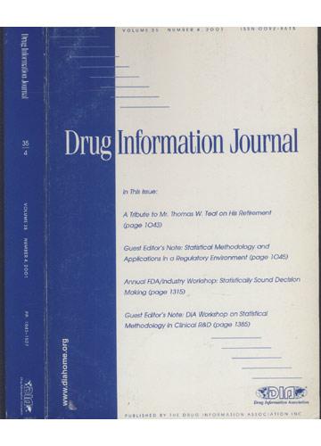 Drug Information Journal - Volume 35 - Número 4 - 2001