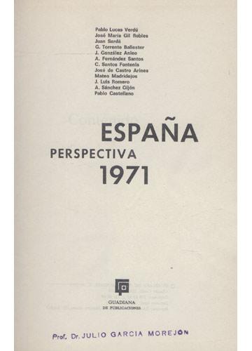 España Perspectiva 1971