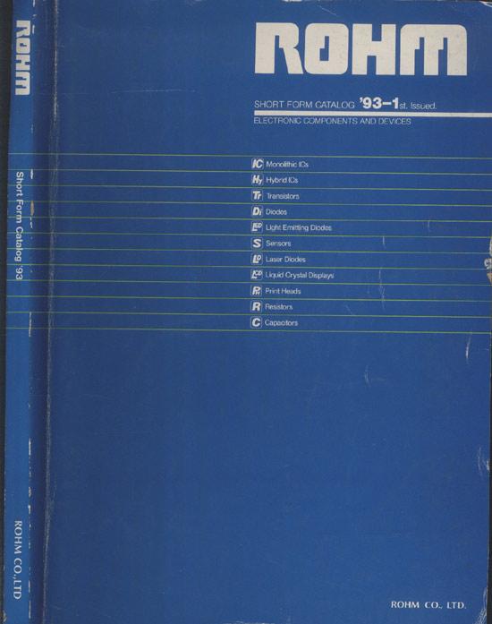 ROHM - Short Form Catalog '93 - 1st