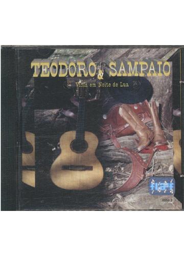 CD - Teodoro & Sampaio - Viola em Noite de Lua - Sebo do