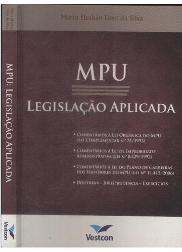 MPU - Legislação Aplicada