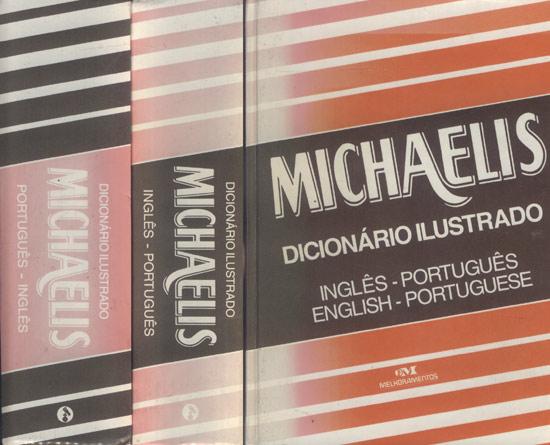Dicionário Ilustrado Michaelis - Inglês & Português - Português Inglês - 2 Volumes