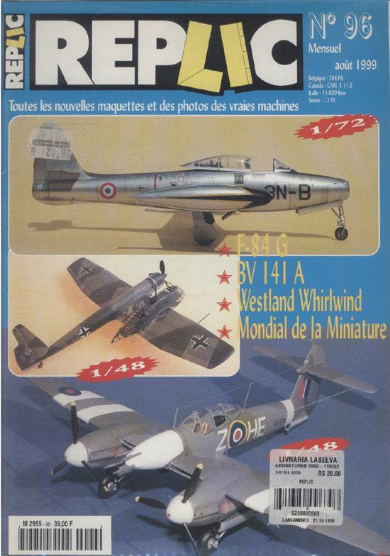 Replic - 1999 - Nº.96 (em francês)