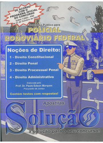 Concurso Público para Policial Rodoviário Federal