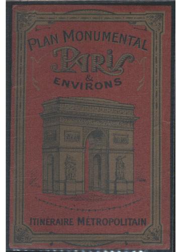 Plan Monumental Paris & Environs - Itinéraire Métropolitan