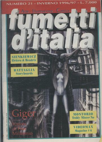 Fumetti D'Italia - 1996-1997 - Nº.21 (em italiano)