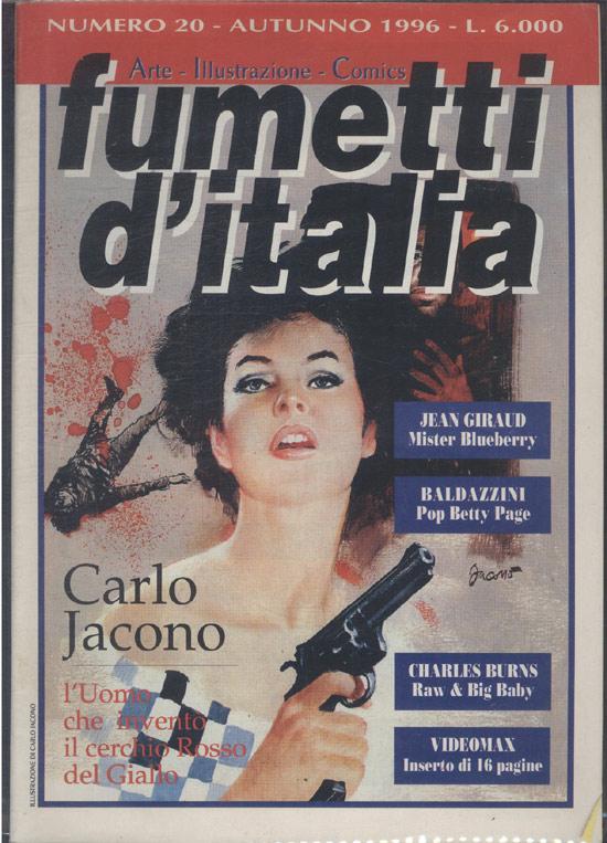 Fumetti D'Italia - 1996 - Nº.20 (em italiano)