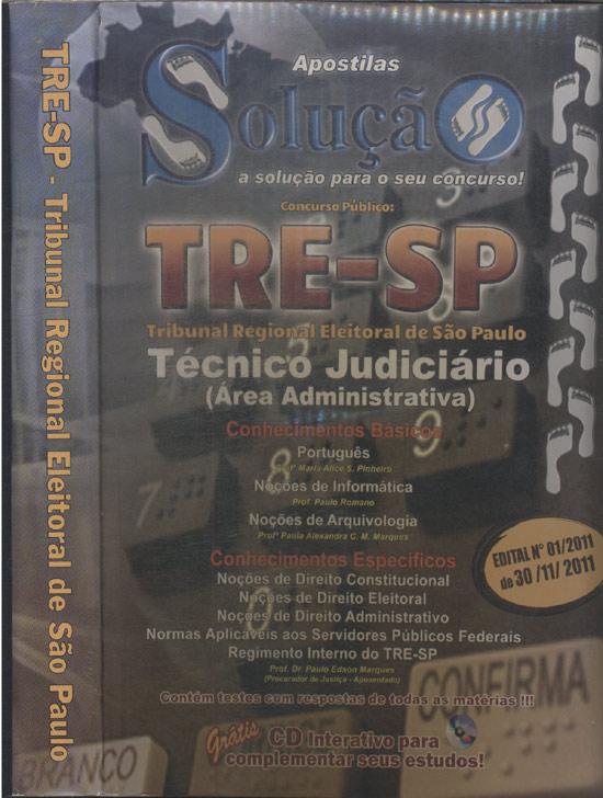 TRE-SP - Tribunal Regional Eleitoral de São Paulo - Com CD