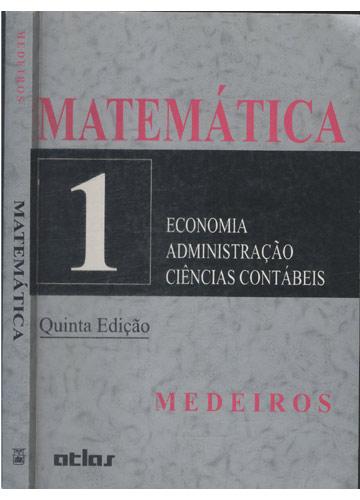 Matemática - Volume 1