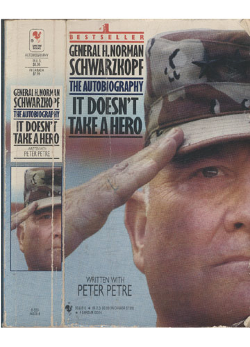 It Doesn´t Take a Hero - General H. Norman Schwarzkopf  - The Autobiography