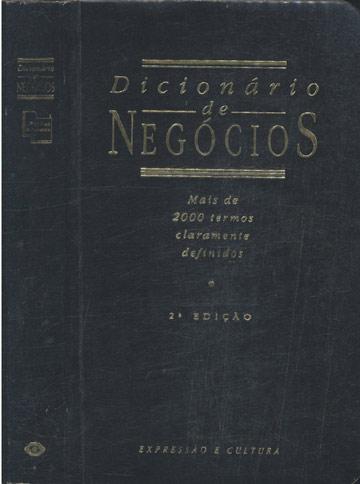 Dicionário de Negócios