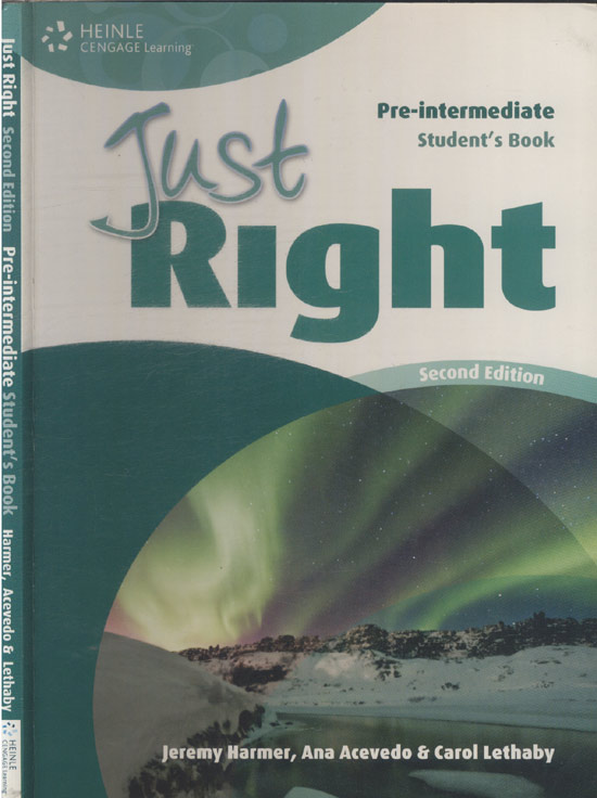 Just Right - Pre-Intermediate Student's Book