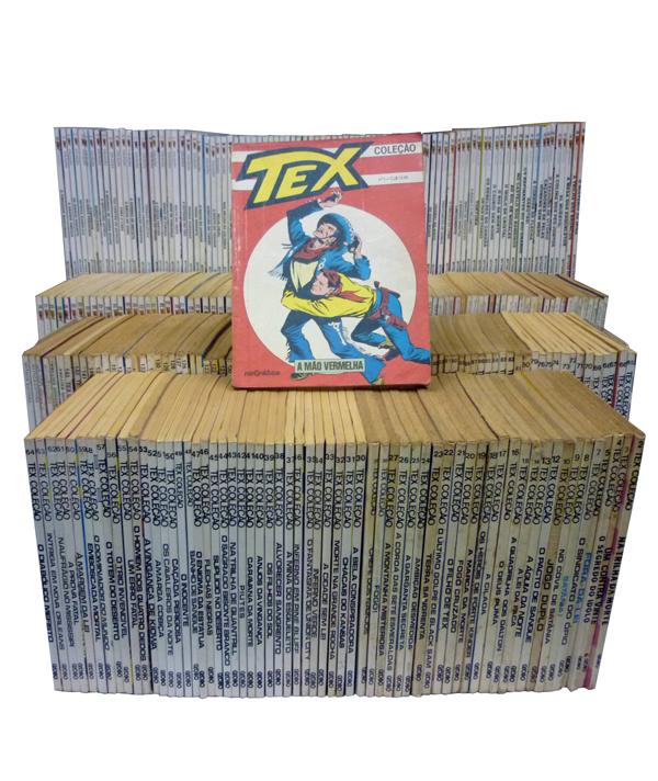 Tex Coleção - 325 Volumes - Do Nº.01 ao Nº.330 - Faltando os Nºs. 06 - 11 - 77 - 131 e 253