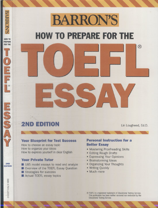 Barron's How to Prepare for the Toefl Essay